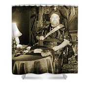 Vintage Swami Shower Curtain