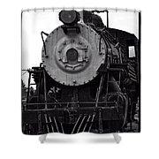 Vintage Train 90 Shower Curtain