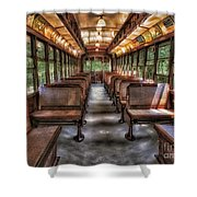 Vintage Trolley No. 948 Shower Curtain