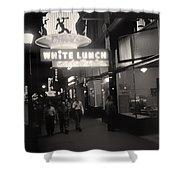 Vintage Vancouver 1950 Shower Curtain