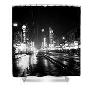 Vintage Vancouver 1951 Shower Curtain