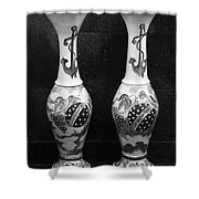 Vintage Vases Shower Curtain