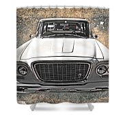 Vintage Vehicle Shower Curtain
