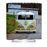 Vintage Volkswagen Bus Shower Curtain