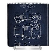 Vintage Willys Jeep Patent From 1942 Shower Curtain