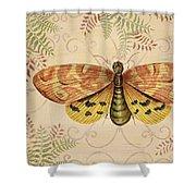Vintage Wings-paris-c Shower Curtain