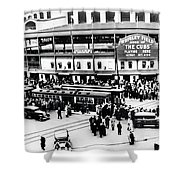Vintage Wrigley Field Shower Curtain