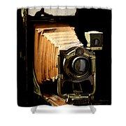 Vintaged Canadian Kodak Camera Shower Curtain