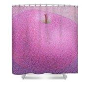 Violet Apple Shower Curtain