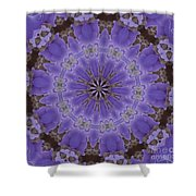Violet Garden Shower Curtain