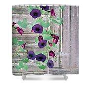 Violet Vine - Photopower 324 Shower Curtain