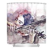 Violin Prelude Shower Curtain