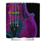 Violin Viola Body Photograph In Digital Color 3265.03 Shower Curtain