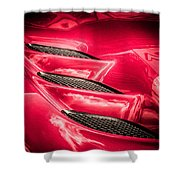 Viper Gills Shower Curtain
