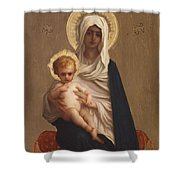 Virgin Of The Deliverance Shower Curtain