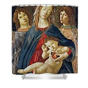 Virgin Of The Pomegranate Shower Curtain