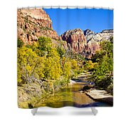 Virgin River - Zion Shower Curtain