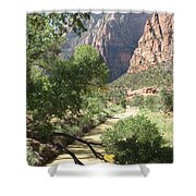 Virgin River Zion Valley Shower Curtain