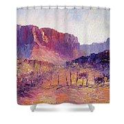 Virgin Valley View Shower Curtain