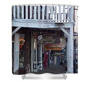 Virginia City Sidewalk  Shower Curtain