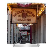 Virginia City Signs Shower Curtain