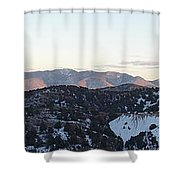 Virginia City View  Shower Curtain