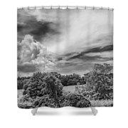 Virginia Clouds Shower Curtain