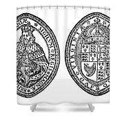 Virginia Company Seal Shower Curtain