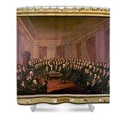 Virginia Convention 1829 Shower Curtain