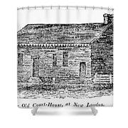 Virginia Court House Shower Curtain