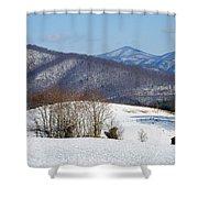Virginia Mountain High Shower Curtain