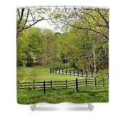 Virginia Spring Shower Curtain