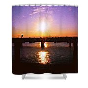 Virginia Sunset Shower Curtain