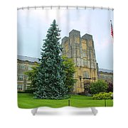 Virginia Tech Shower Curtain