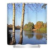 Virginia Water Windsor Berkshire Uk  Shower Curtain