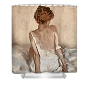 Virginity Shower Curtain