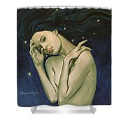 Virgo  From Zodiac Series Shower Curtain