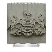 Virtue Liberty Independence Shower Curtain