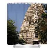 Virupaksha Temple In Hampi Shower Curtain
