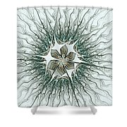 Virus Shower Curtain