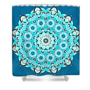 Vishuddha Severity Shower Curtain