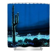 Vision Of A Desert Night Shower Curtain