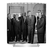 Visionaries Shower Curtain by Benjamin Yeager