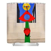 Visions Of Miro Shower Curtain