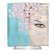 Visions Of Sugarplums Shower Curtain