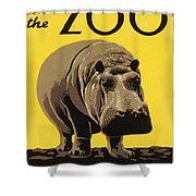 Visit The Philadelphia Zoo Shower Curtain