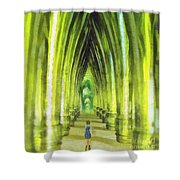 Visiting Emerald City Shower Curtain