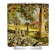 Visiting History Shower Curtain