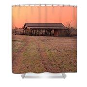 Visiting The Farm Shower Curtain