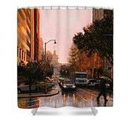 Vista Drizzle Shower Curtain